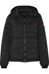 Canada Goose Camp Hooded Quilted Ripstop Down Jacket Black