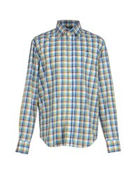 9.2 By Carlo Chionna Shirts Shirts Men Azure