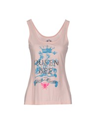 Juicy Couture Topwear Vests Women Light Pink