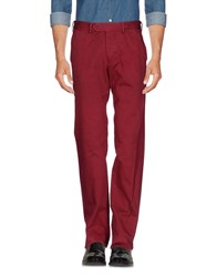 Add Casual Pants Brick Red