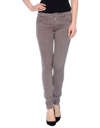 Fairly Denim Pants Brown