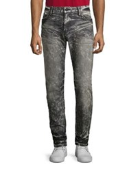 Robin's Jeans Studded Washed Slim Fit 4D Dark