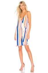 Line And Dot Rory Wrap Dress Pink