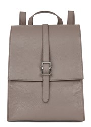 Meli Melo Azzura Grey Leather Backpack