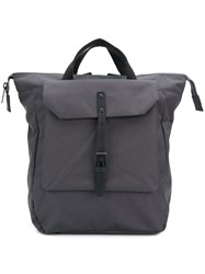 Ally Capellino Frances Backpack Grey