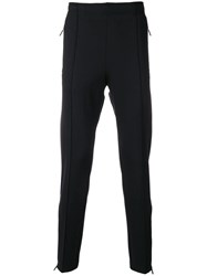 Moncler Grenoble Tapered Track Trousers Black