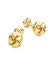 Hickey Freeman Knot Cufflinks Gold