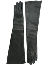 Haider Ackermann Long Gloves Black