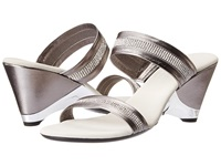 Onex Stunning Pewter Women's Wedge Shoes