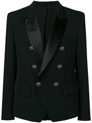 Balmain Perfectly Fitted Jacket Black
