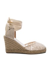 Soludos Tall Wedge Ivory