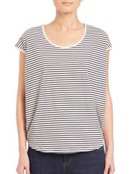 Set Striped Cotton Tee