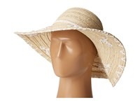 San Diego Hat Company Pbl3075 Floppy Paper Braid With Shells Natural Traditional Hats Beige