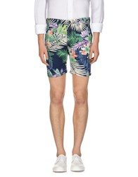 Only And Sons Trousers Bermuda Shorts Men Dark Blue