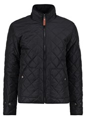 Knowledge Cotton Apparel Light Jacket Phantom Black