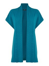 Tigi Soft Feel Cardigan Dark Teal
