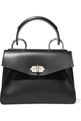 Proenza Schouler Hava Small Leather Tote Black
