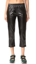 Cushnie Et Ochs Faux Leather Pants Black