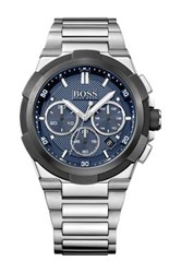 Hugo Boss Men's Supernova Chronograph Bracelet Watch Blue