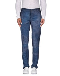 Yoon Trousers Casual Trousers Men Slate Blue