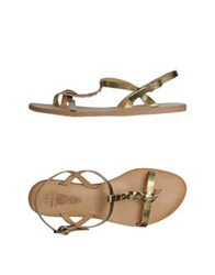 N.D.C. Made By Hand Thong Sandals Pastel Blue