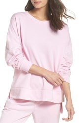 Alternative Apparel French Terry Sweatshirt Vintage Pink Lady