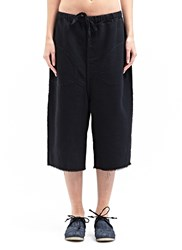 Marvielab Textured Short Jogging Pants Black