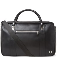 Fred Perry Pique Overnight Bag Black
