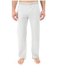 Lacoste Solid Pants Light Grey Men's Pajama Gray