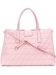 Zanellato Quilted Tote Pink