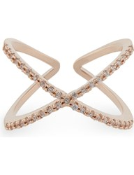 Astrid And Miyu Across The World Rose Gold Ring 18K Rose Gold