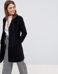 Only Wool Blend Tailored Coat Black