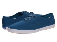 Keds Champion Oxford Blue Sapphire Canvas Women's Lace Up Casual Shoes
