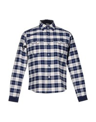 White Mountaineering Shirts Shirts Men Blue