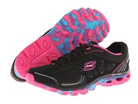 Skechers Chill Out Black Multi Neon Women's Running Shoes
