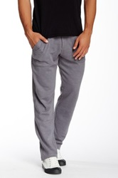 Alternative Apparel Lightweight French Terry Straight Pant Gray