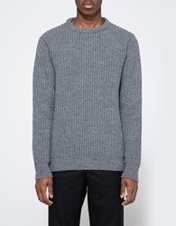 La Panoplie Lambswool Sweater Grey Melange