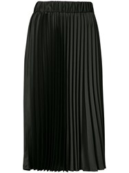 P.A.R.O.S.H. Pleated Skirt Women Polyester M Black