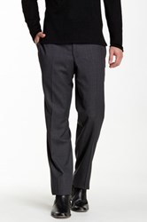 Ted Baker Jarret Charcoal Striped Wool Suit Separates Pant Gray