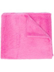 Rochas Classic Scarf Pink And Purple
