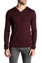 Zadig And Voltaire Ginger Long Sleeve Merino Wool Pullover Purple