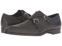 Gravati Double Monk W Apron Toe Grey