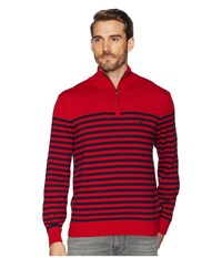 Nautica 12 Guage 1 2 Zip Bretton Sweater Red