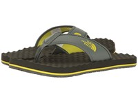 The North Face Base Camp Flip Flop Thyme Sulphur Spring Green Men's Sandals Gray