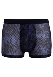 Hom Torride Boxer Shorts Navy Dark Blue