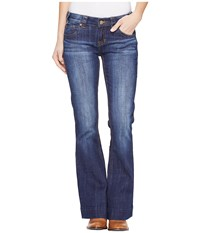 Rock And Roll Cowgirl Trousers Low Rise In Dark Wash W8 1401 Dark Wash Women's Jeans Navy
