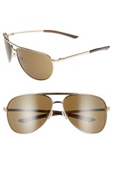 Smith Optics Men's 'Serpico' 66Mm Aviator Sunglasses