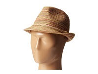 Michael Stars Sand Striped Fedora Multi Caps