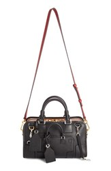 Loewe 'Amazona Multiplication' Bicolor Leather Satchel