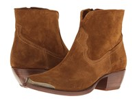 Frye Shane Tip Short Wheat Soft Oiled Suede Women's Pull On Boots Brown